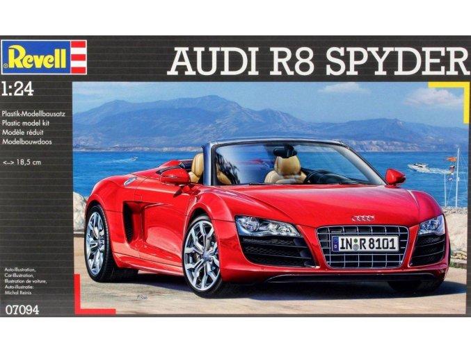 Revell Audi R8 Spyder 1:24 07094