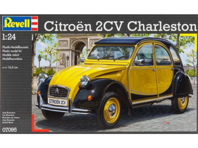 Revell Citroën 2CV 1:24 07095