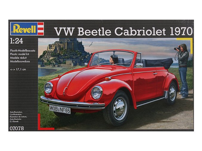 Revell VW Beetle Cabriolet 1970 1:24 07078
