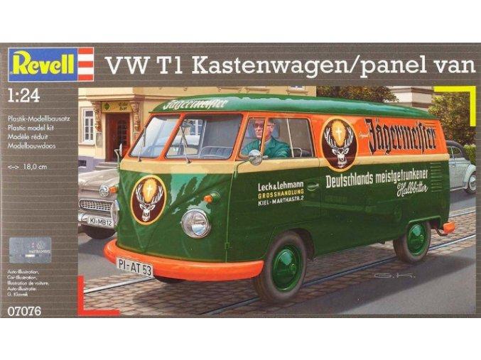 Revell VW T1 Transporter (Kastenwagen) 1:24 07076