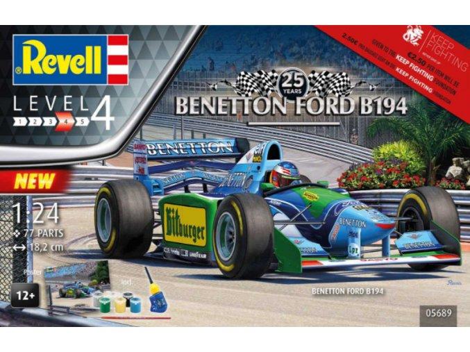 Revell 25 Anniversary Benetton Ford Gift Set 1:24 05689