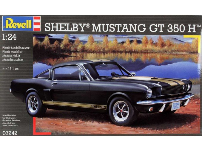 Revell Shelby Mustang GT 350 H 1:24 07242