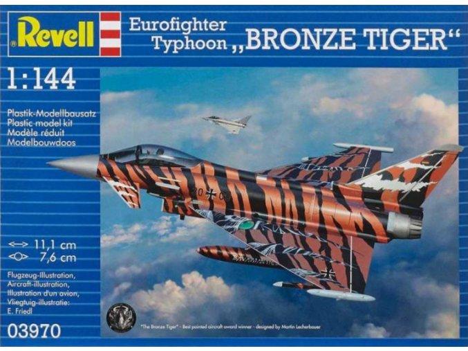 Revell letadlo Eurofighter Bronze Tiger 1:144 03970