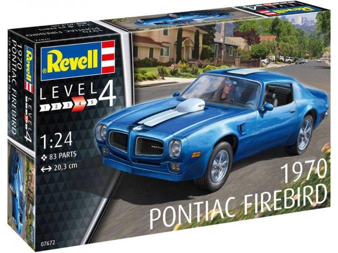 Revell 1970 Pontiac Firebird 1:24 07672