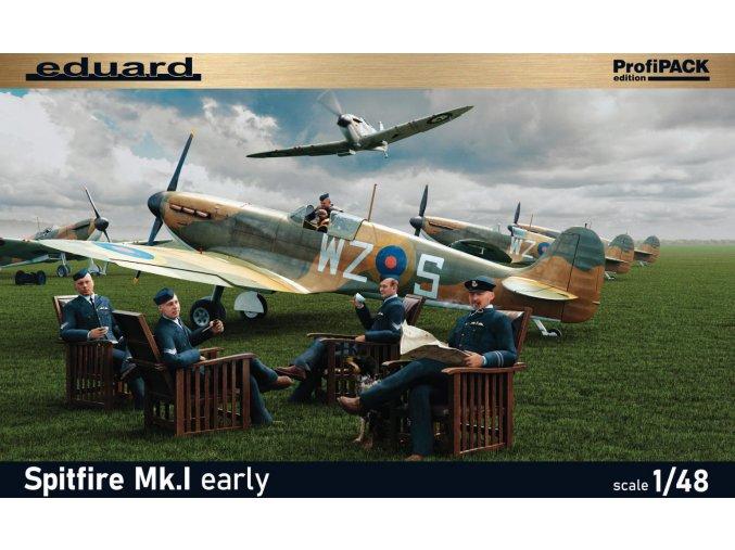 Eduard Spitfire Mk. I raná verze 1:48 82152
