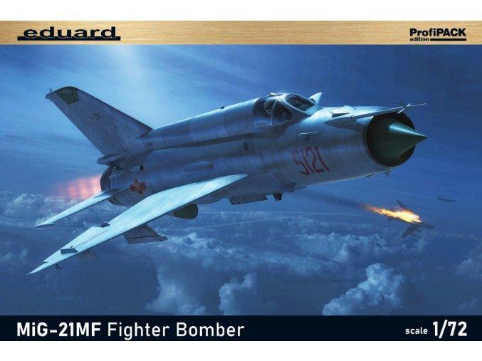 Eduard MiG-21MF Fighter-Bomber 1:72 70142