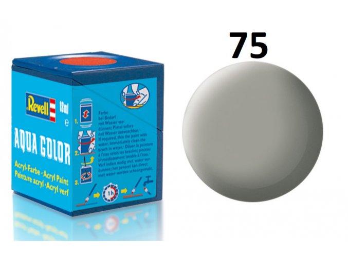 Revell barva akrylová - 36175: matná kamenně šedá (stone grey mat)
