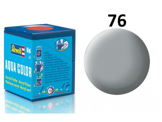 Revell barva akrylová - 36176: matná světle šedá (light grey mat USAF)