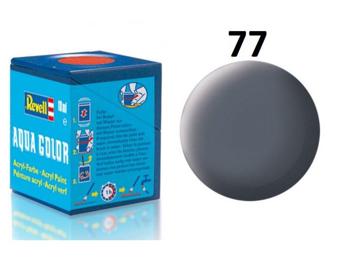 Revell barva akrylová - 36177: matná prachově šedá (dust grey mat)