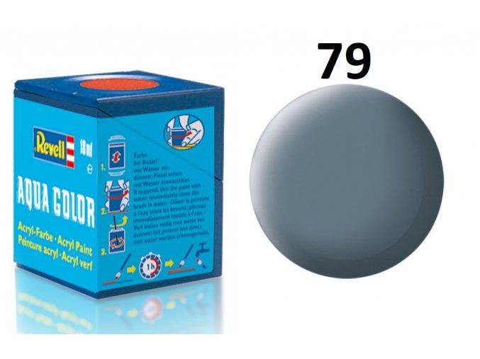 Revell barva akrylová - 36179: matná šedavě modrá (greyish blue mat)