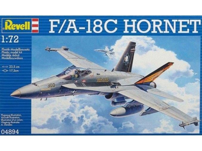 Revell letadlo F/A-18C Hornet 1:72 04894