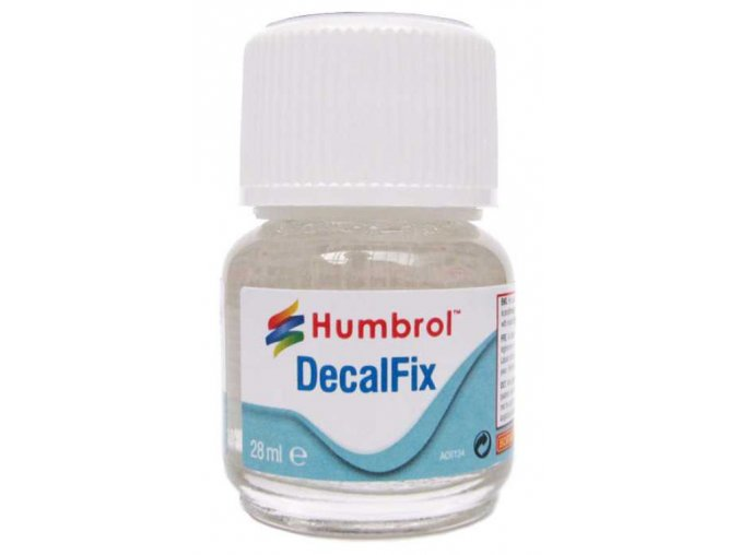 Humbrol Decalfix - změkčovač obtisků 28ml AC6134