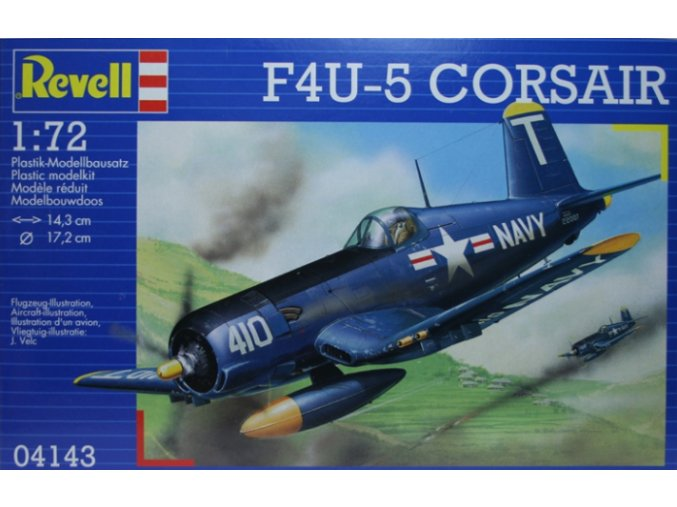 Revell letadlo F4U-5 Corsair 1:72 04143