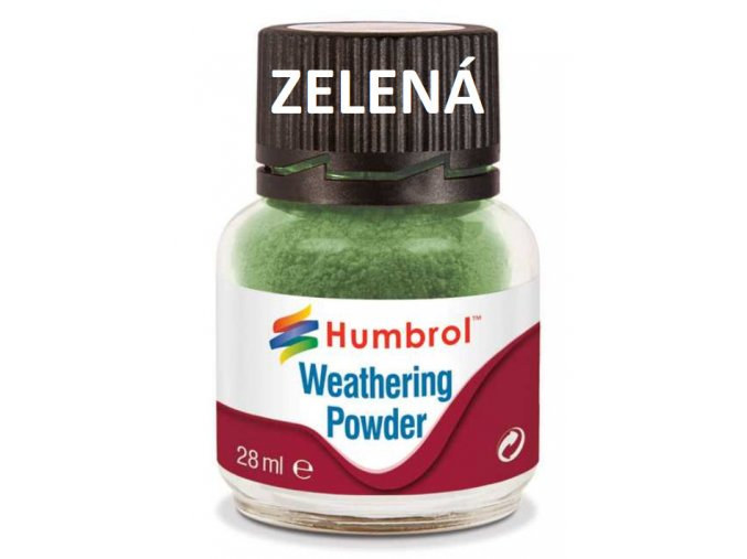Humbrol Weathering Powder Chrome Oxide Green - pigment pro efekty 28ml AV0005