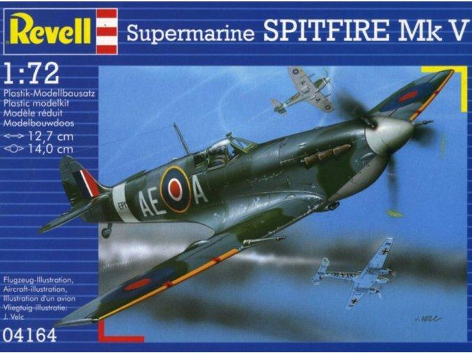 Revell letadlo Supermarine Spitfire Mk. V 1:72 04164