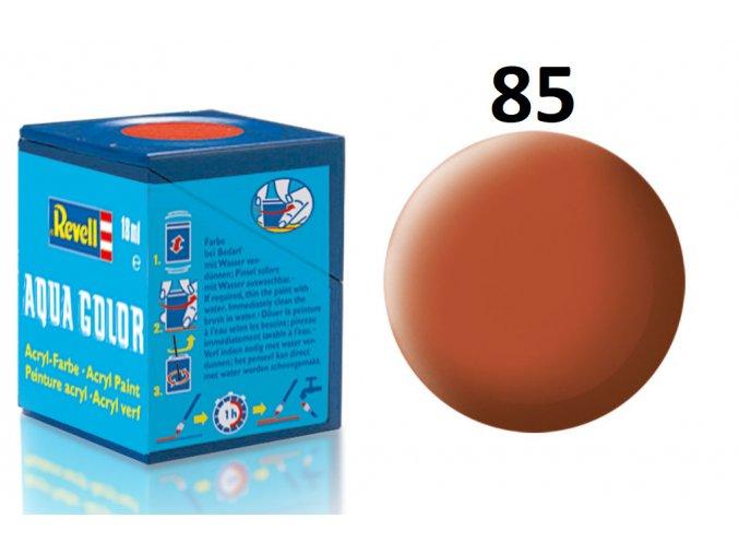 Revell barva akrylová - 36185: matná hnědá (brown mat)
