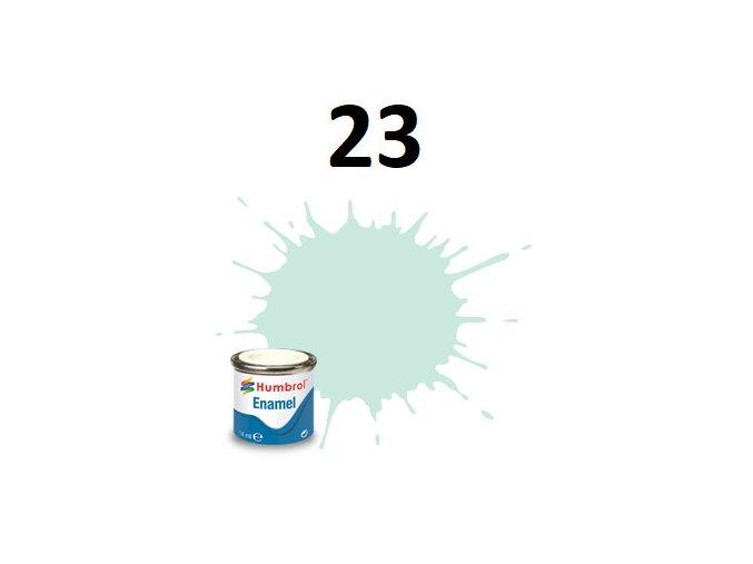 Humbrol barva emailová 23 Duck Egg Blue - Matt