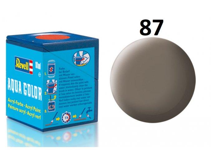 Revell barva akrylová - 36187: matná zemitě hnědá (earth brown mat)