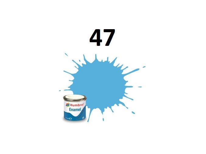 Humbrol barva emailová 47 Sea Blue - Gloss