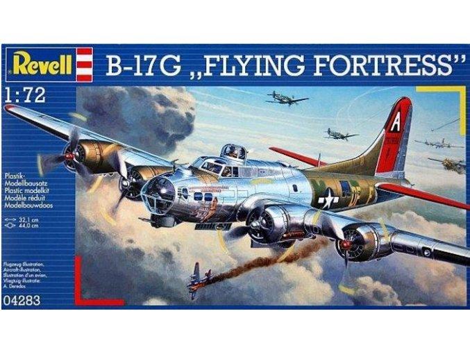 Revell letadlo Boeing B-17G Flying Fortress 1:72 04283