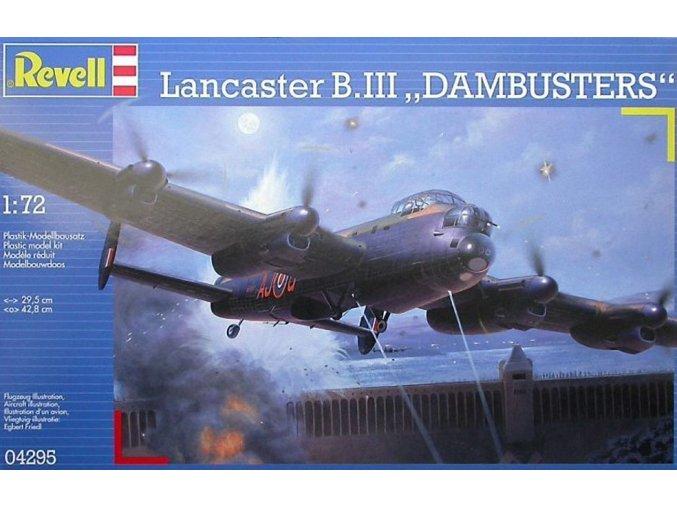 Revell letadlo Avro Lancaster B. III Dambusters 1:72 04295