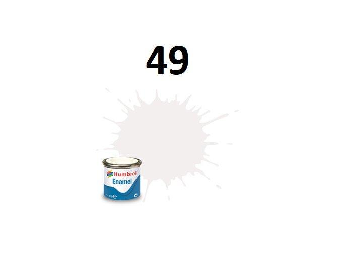 Humbrol barva emailová 49 Varnish - Matt