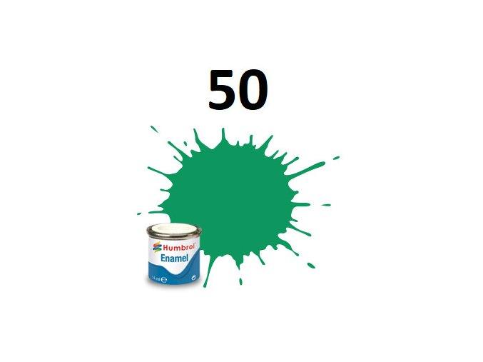 Humbrol barva emailová 50 Green Mist - Metallic