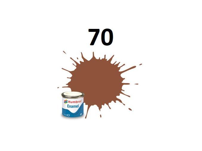 Humbrol barva emailová 70 Brick Red - Matt