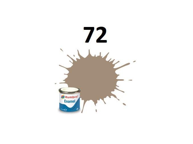 Humbrol barva emailová 72 Khaki Drill - Matt
