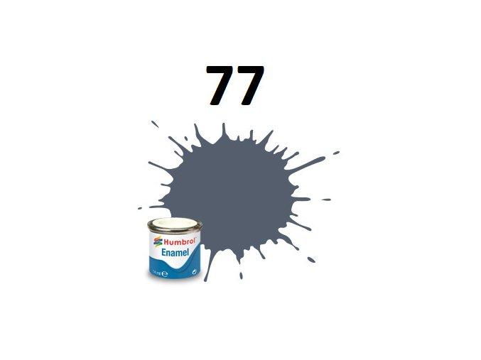 Humbrol barva emailová 77 Navy Blue - Matt