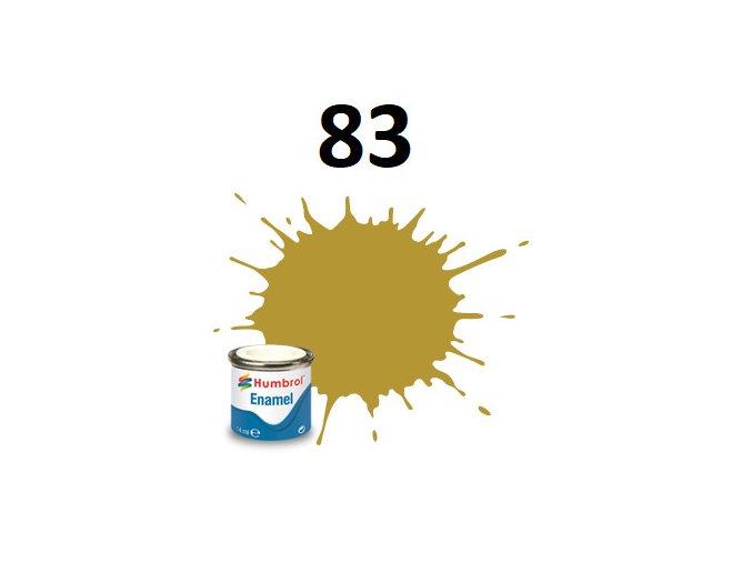 Humbrol barva emailová 83 Ochre - Matt