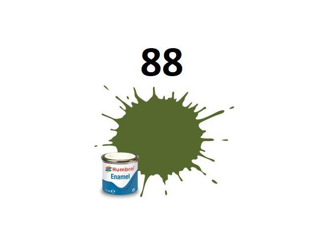 Humbrol barva emailová 88 Deck Green - Matt