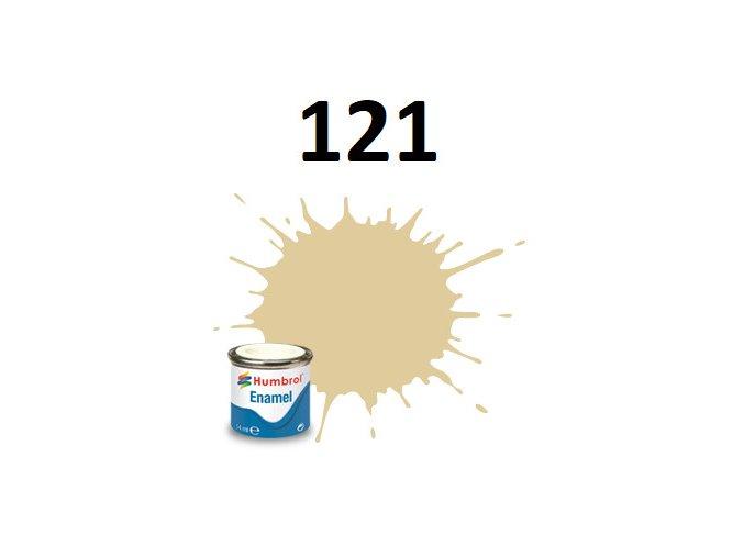 Humbrol barva emailová 121 Pale Stone - Matt