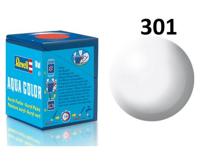 Revell barva akrylová - 36301: hedvábná bílá (white silk)