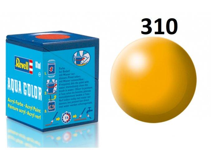 Revell barva akrylová - 36310: hedvábná žlutá (yellow silk)