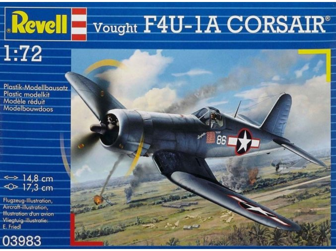 Revell letadlo F4U-1A Corsair 1:72 03983