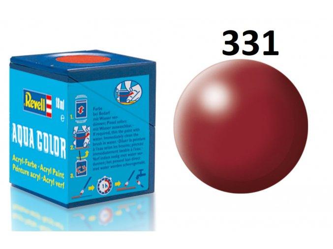 Revell barva akrylová - 36331: hedvábná nachově červená (purple red silk)