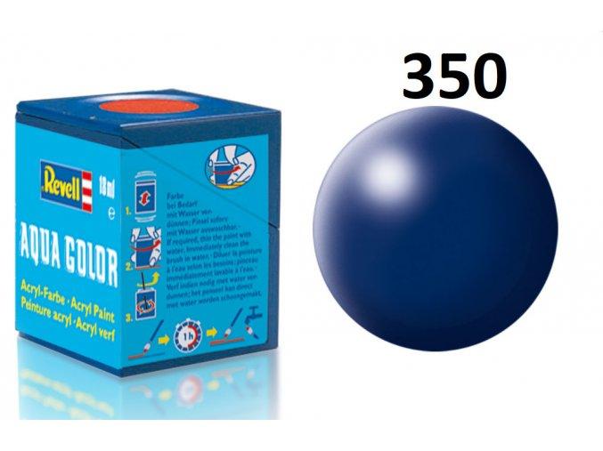 Revell barva akrylová - 36350: hedvábná tmavě modrá (dark blue silk)
