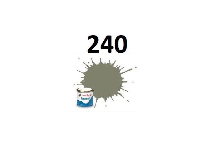 Humbrol barva emailová 240 RLM 02 grau - Matt