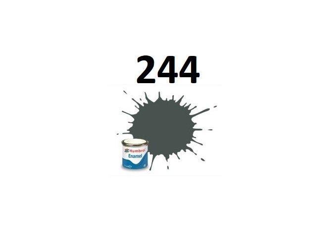 Humbrol barva emailová 244 RLM 73 Grun - Matt