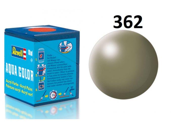 Revell barva akrylová - 36362: hedvábná šedavě zelená (greyish green silk)
