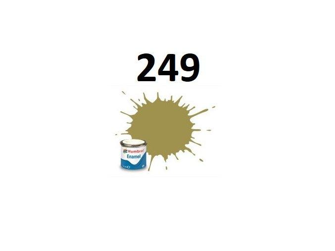 Humbrol barva emailová 249 RLM 79 Sandgelb - Matt