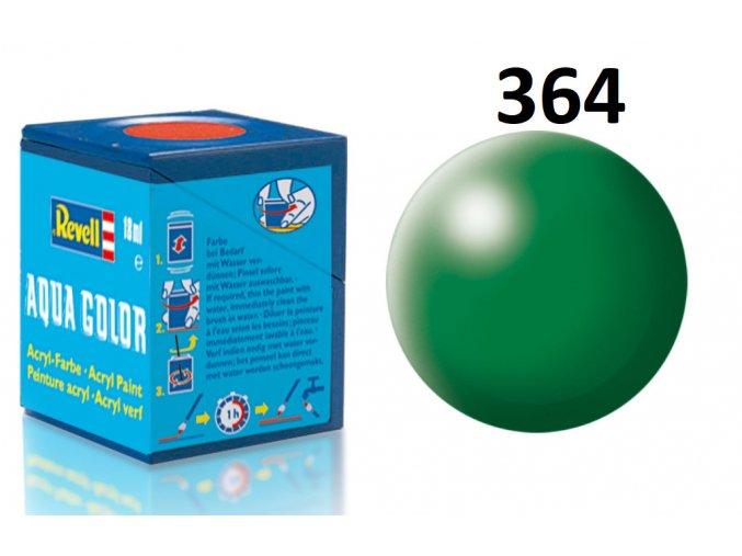 Revell barva akrylová - 36364: hedvábná listově zelená (leaf green silk)