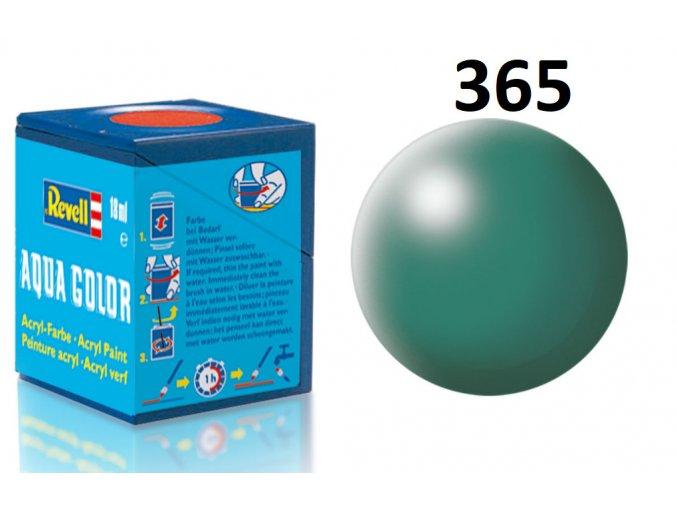 Revell barva akrylová - 36365: hedvábná zelená patina (patina green silk)