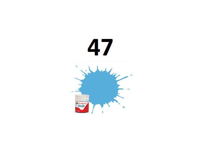 Humbrol barva akryl 47 Sea Blue - Gloss