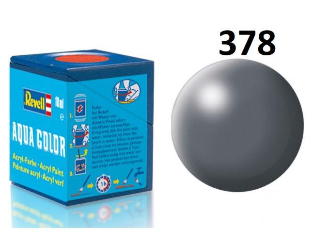 Revell barva akrylová - 36378: hedvábná tmavě šedá (dark grey silk)
