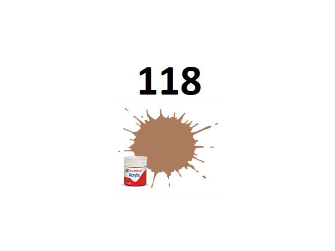 Humbrol barva akryl 118 US Tan - Matt