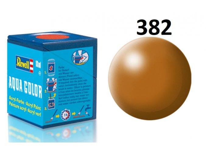 Revell barva akrylová - 36382: hedvábná lesní hnědá (wood brown silk)