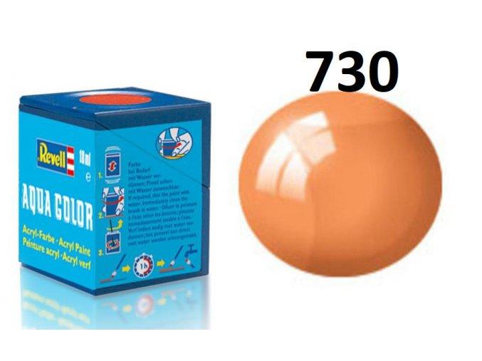 Revell barva akrylová - 36730: transparentní oranžová (orange clear)