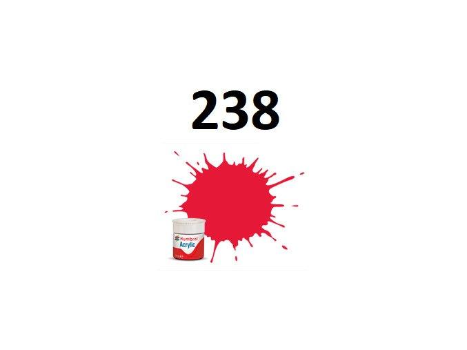 Humbrol barva akryl 238 Arrow Red - Gloss